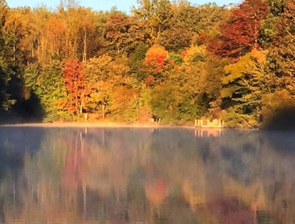 Lake Audubon at dawn/Credit: Joy Every
