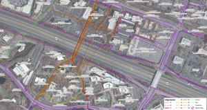 Suggested routes for Soapstone extension/Credit: Fairfax County