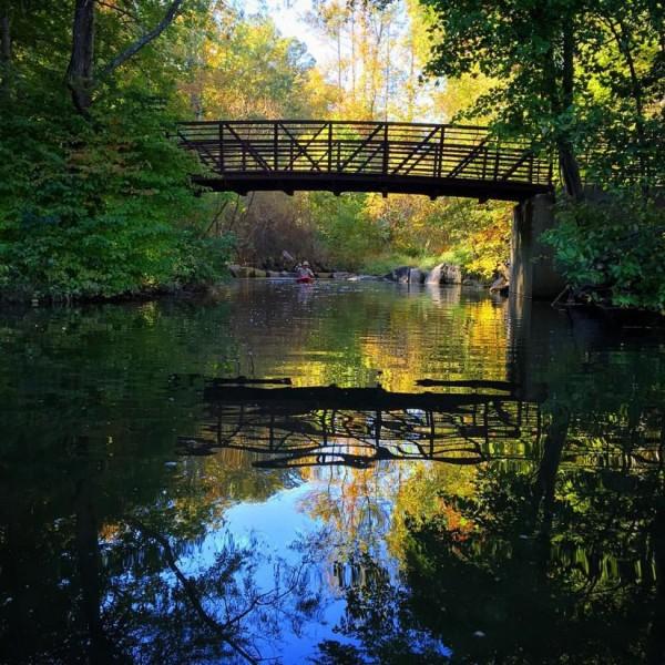 Kayaking on Lake Audubon/Credit: Joy Every