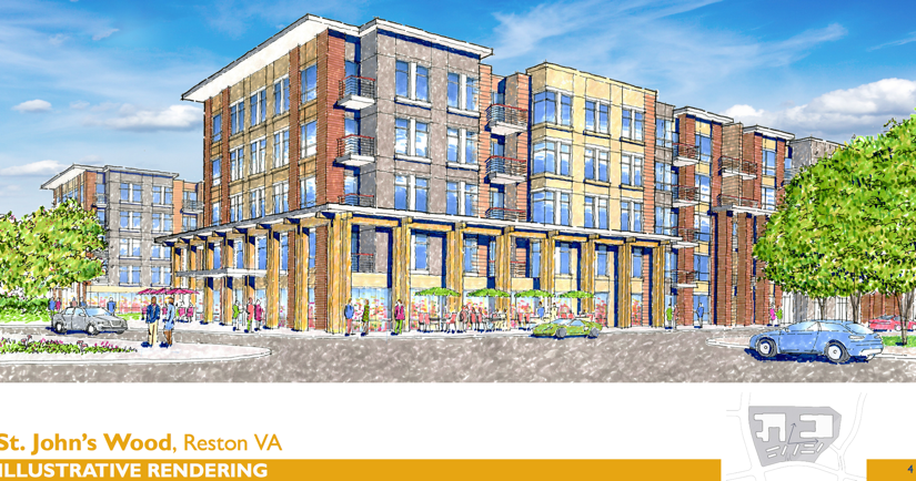 Area Residents Get First Look At New Plans For St Johns Wood - North point apartments reston