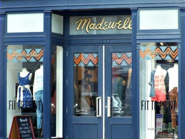 Madewell store in Georgetown/Emmysheehy.com