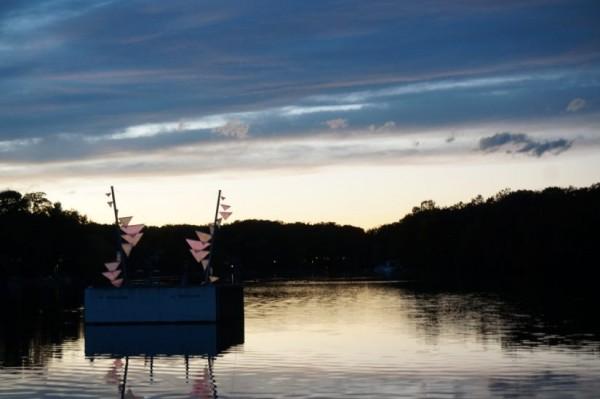 Sunset on Lake Thoreau