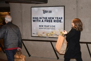 Metro offering free New Year's Eve rides thanks for Miller Lite/Photo: MillerCoors