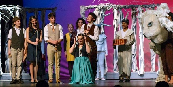 "Herndon High's ""The Lion, The Witch and The Wardrobe""/Courtesy Karen Harrison"