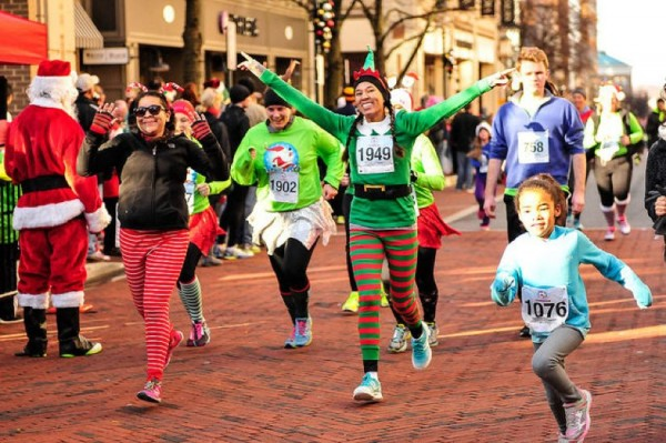 Run with Santa 5K 2014/Courtesy PR Races