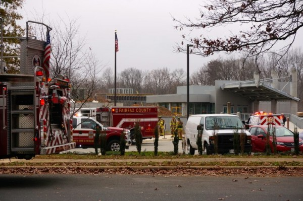 Gas leak at Terraset Elementary
