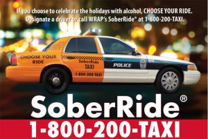 SoberRide Holiday campaign