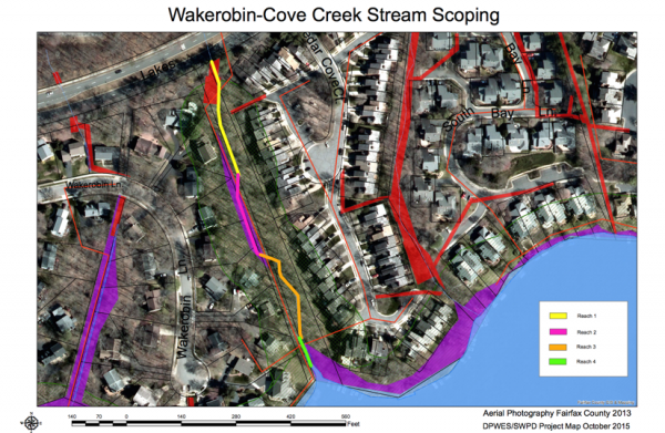 Wakerobin drainage