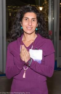 Maryam Ovissi of Beloved Yoga/Credit: Chip McCrea Photography