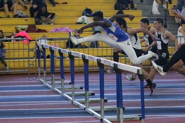 Anas fain in hurdles/Credit; Ed Lull