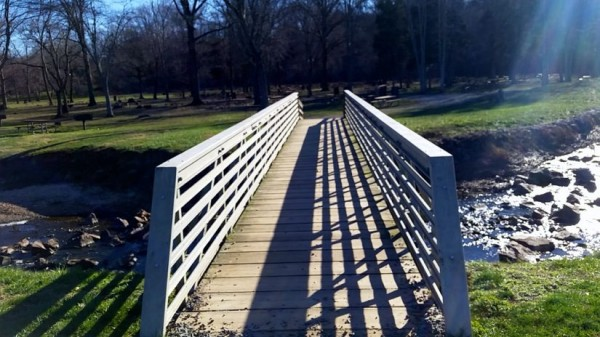 Bridge at Lake Fairfax Park/Credit: Ryan Goff