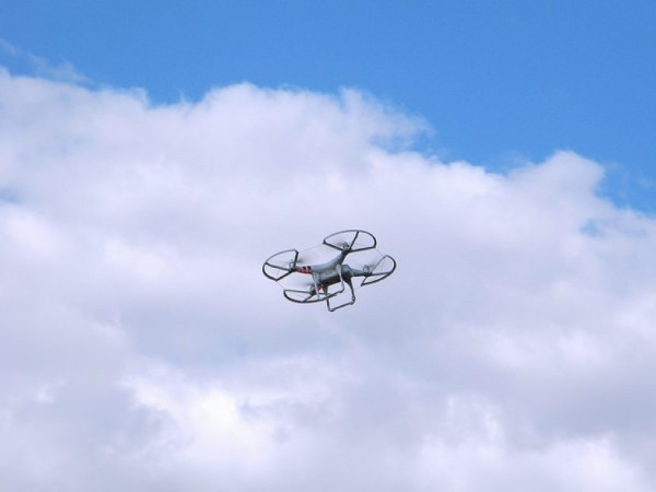 Drone in Sky/Credit: jacinta lluch valero via Flickr