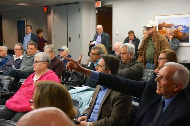 Citizens at meeting about potential new septage site