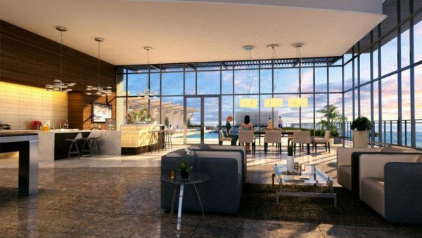 Rendering of BLVD lobby/Courtesy BLVD