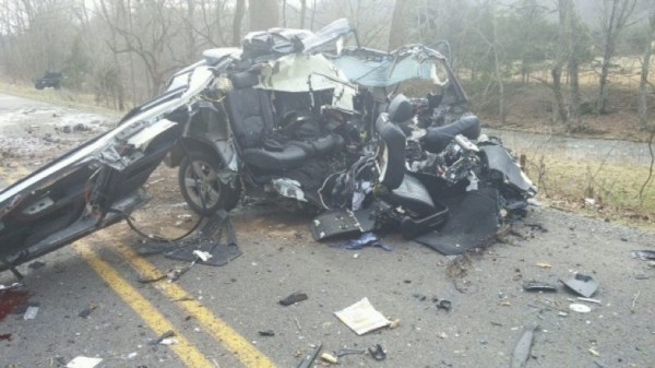 Crash in Rockingham County/Credit: Virginia State Police