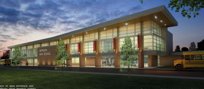 Sneak Peek Herndon Highs Renovation Plans Reston Now