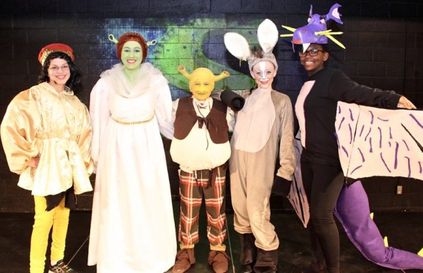 Hunters Woods students in Shrek Jr./Courtesy Kimberly Berry