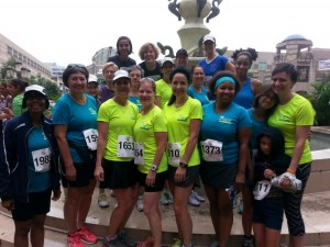 Women's Training Program participants after 5K in 2014/Courtesy Reston Runners