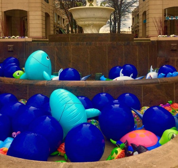 April Fools Day/Credit: Reston Town Center
