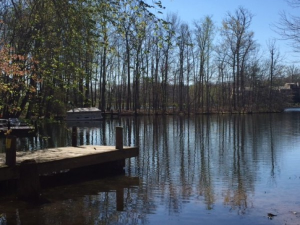April on Lake Thoreau