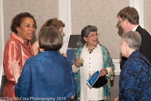 Best of Reston honoree Lelia Gordon (center)/Credit Chip McCrea