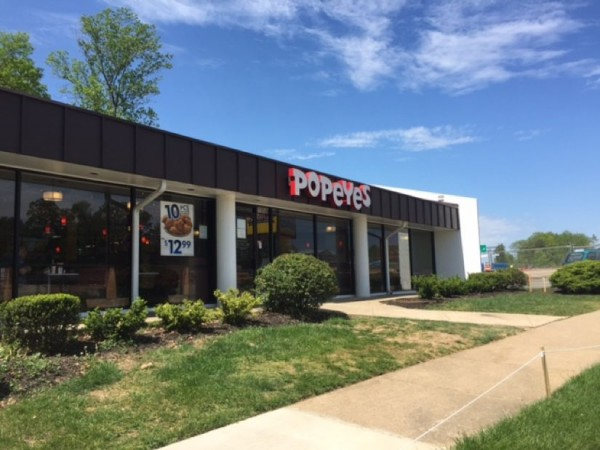 Popeyes remains even though most of Reston International Center is gone