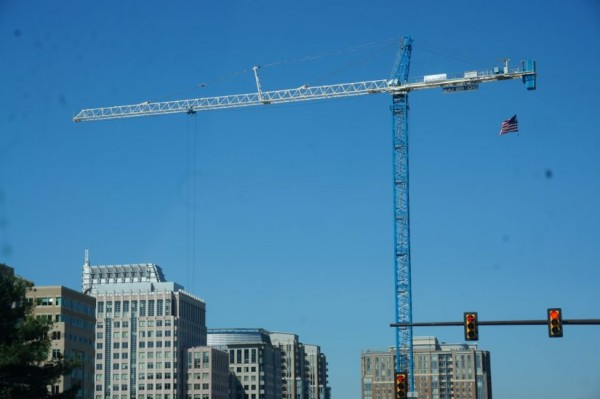cranes over RTC