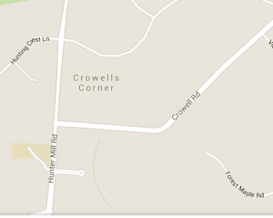 crowell at Hunter Mill MAP