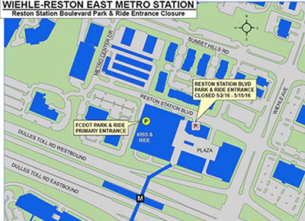 Wiehle-Reston East Map