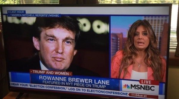 Brewer Lane on MSNBC