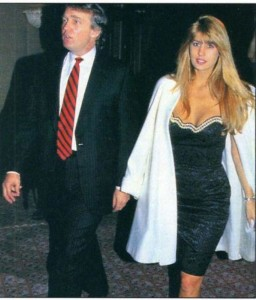 Donald Trump and Rowanne Brewer Lane in 1990/People Magazine
