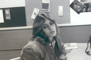 Rowanne Brewer in high school, early 1980s/Facebook