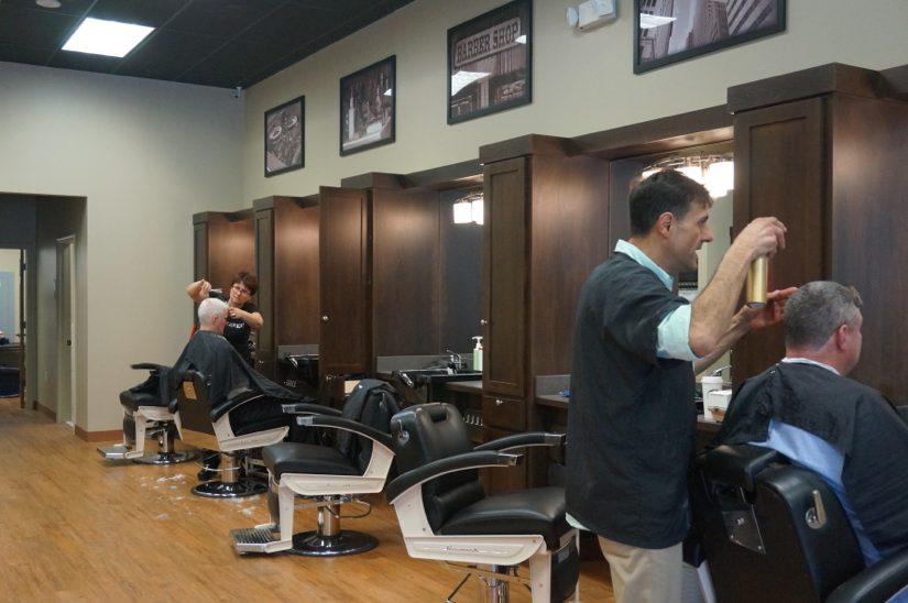Hair salon for men barber shop roosters mens grooming for The barbershop a hair salon for men