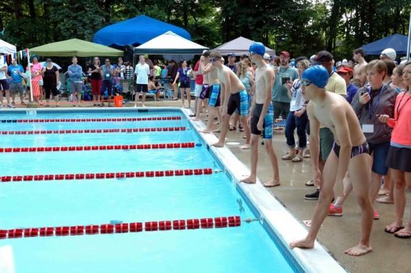 Swim team week 2/Credit: RSTA