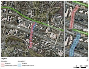 Map of suggested Soapstone extension/Credit: Fairfax County
