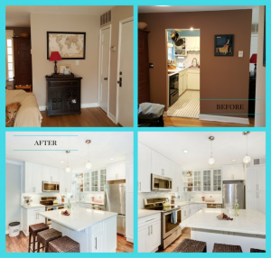 Fairlington kitchen