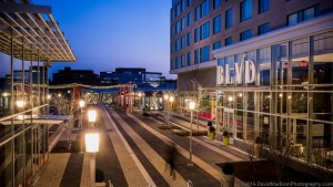 Reston Station at Night/Credit: David Madison Photography, Comstock
