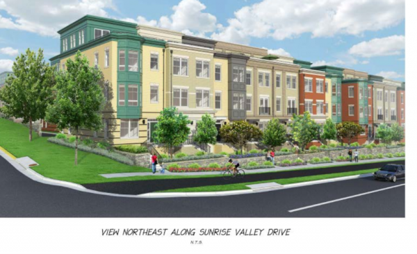 Rendering of RP 11720 Sunrise Valley/Fairfax County