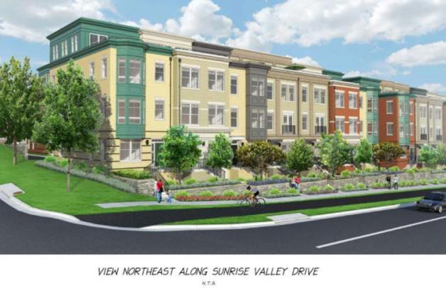 Valley & Park replaces a six-story office building. Credit: Fairfax County