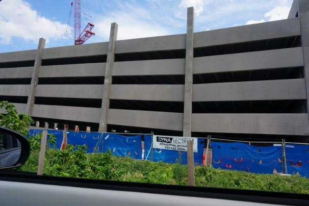 Parking garage at Vy at Reston Heights