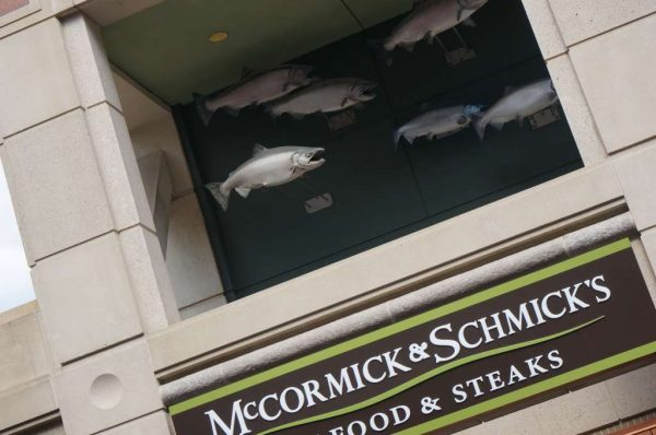 McCormick & Schmick's fish at Reston Town Center