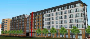 Rendering of Lincoln Property Co. Project off Sunrise Valley Drive/Credit: Fairfax County