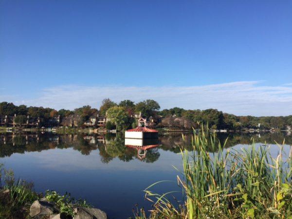 Fall on Lake Thoreau