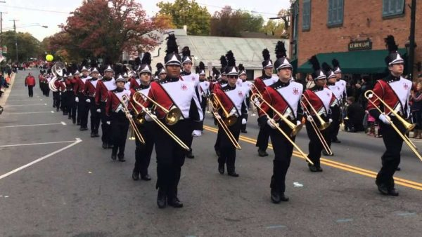 Herndon High Band in Homecoming parade 2015/Credit: YouTube