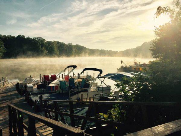 Fall morning on Lake Anne/Credit: John Melnick