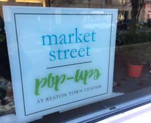 Reston Town Center Popup Stores