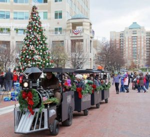 Mini Train Rides by Reston Town Center