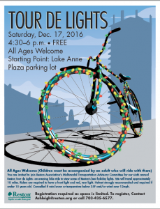 Tour de Lights flyer
