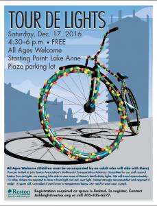 Tour de Lights flyer