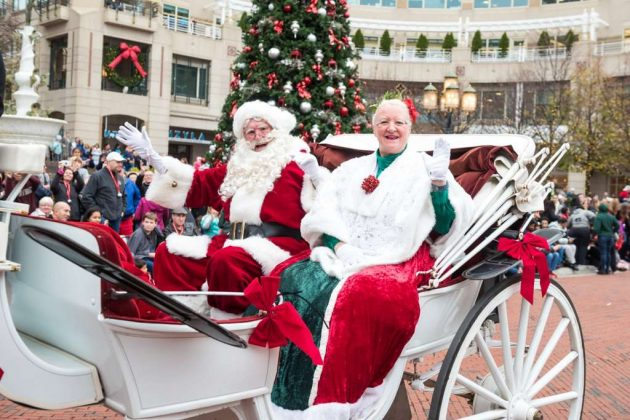 The 2016 Reston Holiday Parade / Credit: Reston Town Center